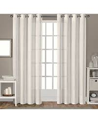 Winter Window Curtains Winter Sale Exclusive Home Curtains Sparkles Grommet Top Window