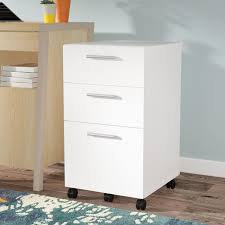 File Cabinet With Drawers Latitude Run Magdalena 3 Drawer Mobile Filing Cabinet U0026 Reviews