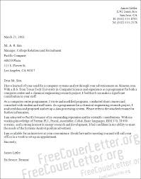 system analyst cover letter sample