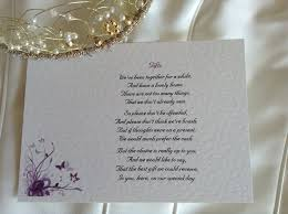 wedding gift poems guest information cards and wedding gift wish cardss gift poem