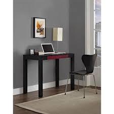 Parsons Computer Desk Parsons Desk With Colored Drawer Colors Walmart