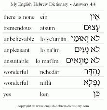 1002 best hebrew words images on hebrew words learn