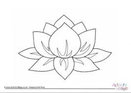 lotus flower coloring funycoloring