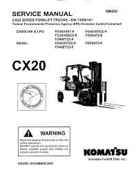 service manual komatsu forklift usa inc v3 1