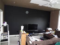 black painted walls best 10 black painted walls ideas on