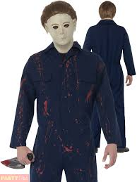 michael myers costume official michael myers costume mens h20 fancy dress