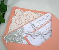 beach wedding theme with coral wedding invitations