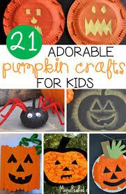 21 adorable pumpkin crafts for kids the kindergarten connection
