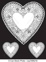 heart shaped doilies antique white lace heart doilies vintage heart shaped white