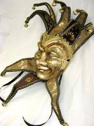 jester mask paper mache venetian jester mask joker costume masks