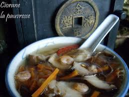 cuisine chinoise poisson soupe de poisson à la chinoise la cuisine de quat sous