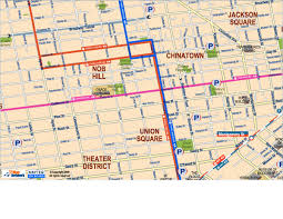 san francisco hotel map pdf downtown san francisco union square chinatown and nob hill areas