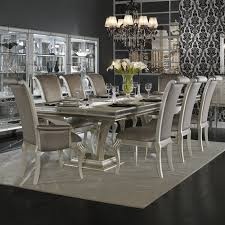 silver dining room awesome inspiring silver dining table and chairs 15 in glass room
