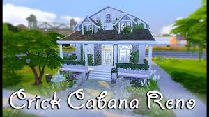 the sims 4 let s renovate a starter home crick cabana speed the sims 4 let s renovate a starter home crick cabana speed build