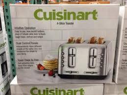 4 Slice Cuisinart Toaster Cuisinart 4 Slice Toaster U2013 Costcochaser