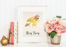 printable maps hong kong hong kong map hong kong art hong kong poster hong kong print