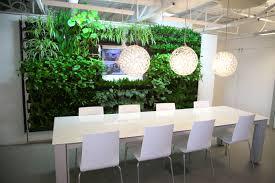 dirtt breathe walls around calgary greenery office interiors