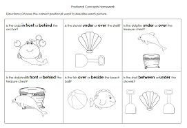 beach positional words packet expresslyspeaking