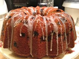 my daughter blew me off today i baked a blueberry pound cake