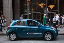 nissan micra bluetooth manual driving the streets of new york in a nissan micra