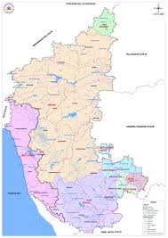 Map Of West Coast States by River Systems Of Karnataka