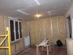 isolation chambre création salle de bain wc chambre avec isolation phonique