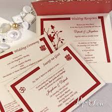 asian wedding invitation laser cut ganesha on cover names