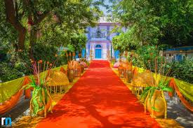 floral infused sikh wedding u0026 sangeet at the diggi palace jaipur