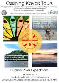 ossining kayak tours with hudson river expeditions green