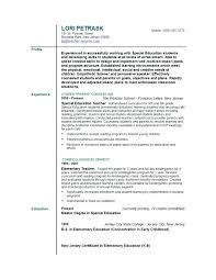 resume examples education jobs the best teacher template ideas on