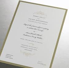 wedding invitations limerick finer details