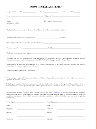 sample roommate rental agreement forms