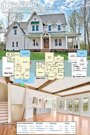 Large Front Porch House Plans by Best 25 Farmhouse Plans Ideas Only On Pinterest Farmhouse House
