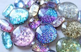 theresa joy 365 days of pinterest day 15 diy glitter magnets