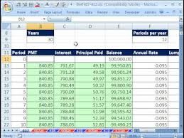 Loan Amortization Calculator Excel Template Excel Magic Trick 407 Amortization Table W Variable Rate