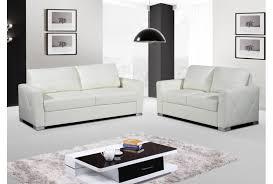 canapé cuir blanc 2 places canape cuir blanc 2 places photos de conception de maison