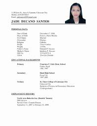 exle of simple resume format resume sle luxury resume exle simple resume format sle