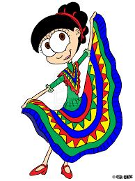 Cartoon Mexican Flag Mexican Dancers Clipart Clipart Kid 2 Clipartix