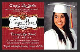 senior graduation invitations customized graduation invitations stephenanuno