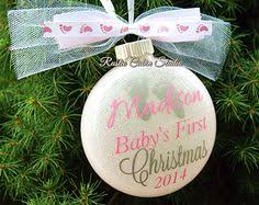 baby s ornament baby ornament personalized