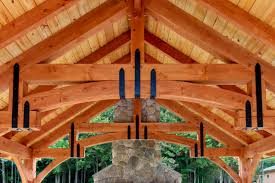 new outdoor pavilion the alpine the barn yard great country hammer beam truss design with powder coated strapping