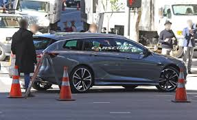 vauxhall insignia wagon 2017 opel insignia sport tourer also spotted without any camo