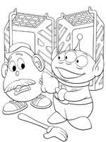 coloriage toy story sur coloriages coloriages toy story