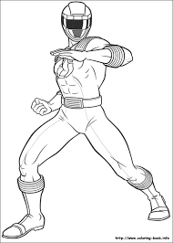 creative idea power rangers coloring book coloring pages 224