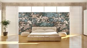 Schlafzimmer Wandgestaltung Blau Wohnzimmer Wandgestaltung Tapete Ruaway Com