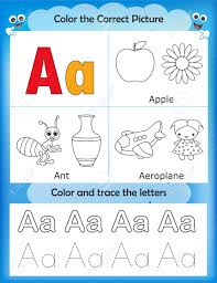 alphabet learning letters u0026 coloring graphics printable worksheet