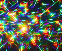 gems plastic rainbow fireworks glasses pack of 4 assorted