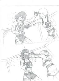 solar plexus punch boxing boruto vs sarada boxing by jpguchiha on deviantart