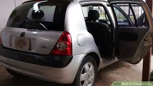 Learn How To Do Car Upholstery How To Vacuum A Car 11 Steps With Pictures Wikihow
