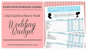 Wedding Budget Wedding Budget Workbook Freebie Wedding Planning Series